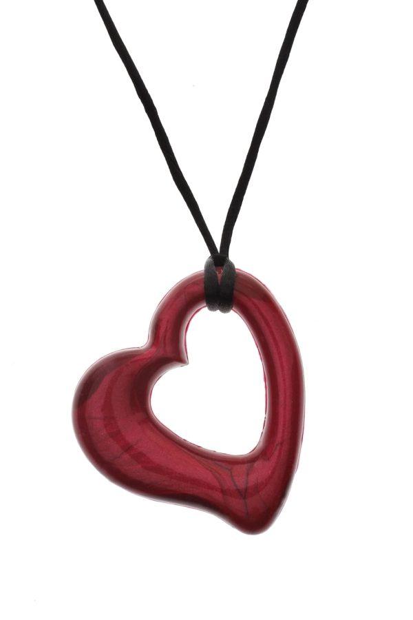 Tugghalsband hjärta