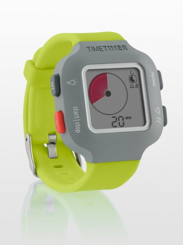 Klocka Time Timer®  Armband Junior, lime