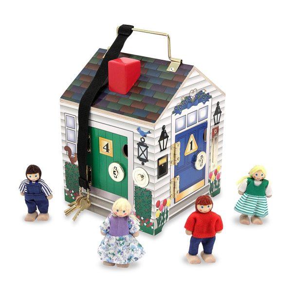 Låshus med nycklar