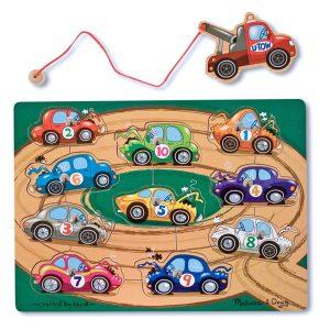 Magnetpussel bilar