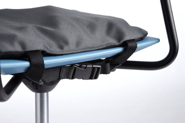Sittdyna Protac Bolldyna™ 40x40cm, 25mm bollar, snabbfäste, Dark Grey