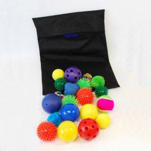 Känselbollar, 20pack