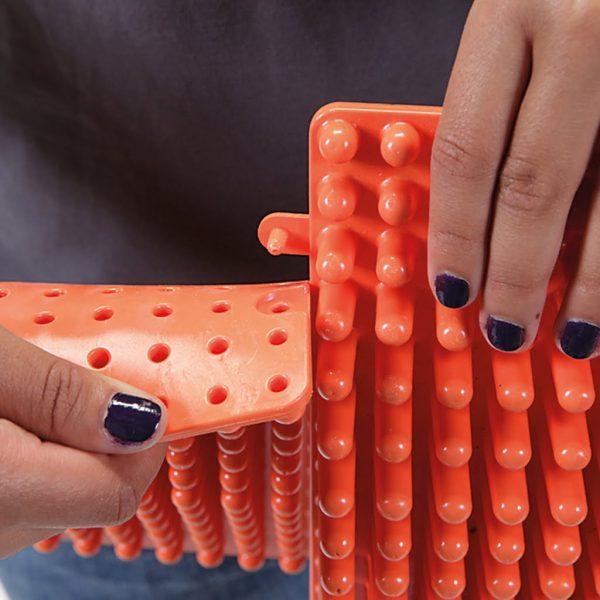 Fotmatta (orange)
