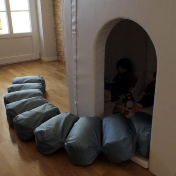 Lilla Huset VIT inkl. 2 speglar