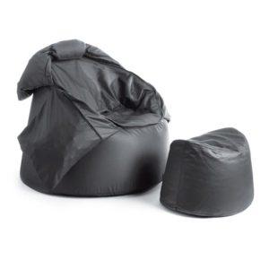 Bollfåtölj Protac SenSit® inkl.fotpall, Dark Grey