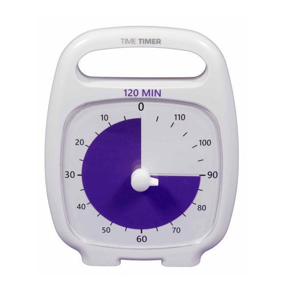 Klocka Time Timer® Plus Vit 120 min