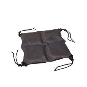 Sittdyna Protac Bolldyna™ med fack 40x40cm, 25mm bollar, Dark Grey