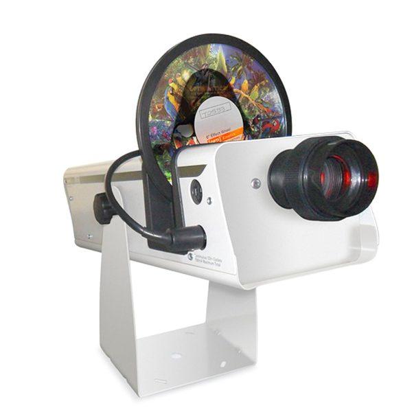 LED projektor inkl roterare 15+22,5cm hjul, magnetisk