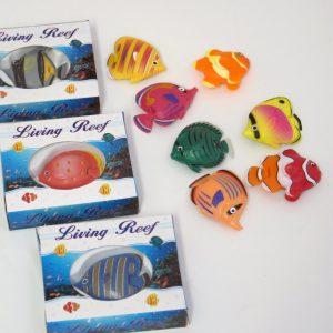 Fiskar till bubbelrör