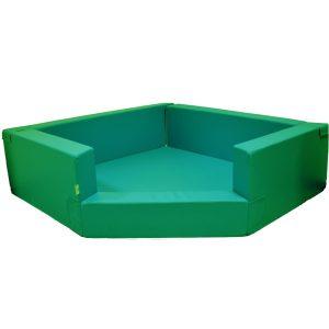 Tumlegrop 150*150*45, Grön