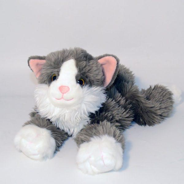 Katten Smulan med värmekudde
