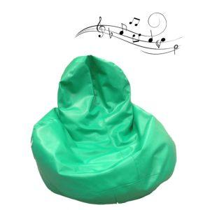 Balloo Galon grön m musikvibrationer