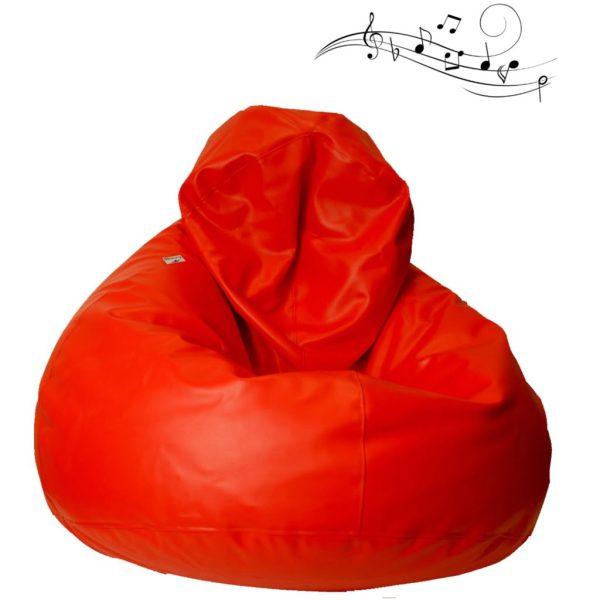 Balloo Galon röd m musikvibrationer