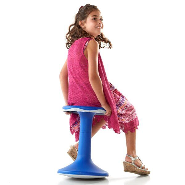 Rörelsepall 50cm, mörkblå