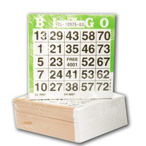 Extra Bingo-Block till 503795 Bingo-Set (1-75)