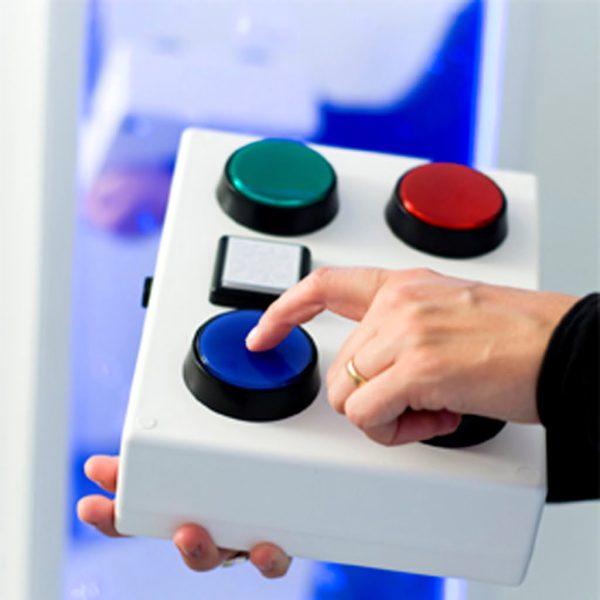 Trådlös styrenhet 5 knappar