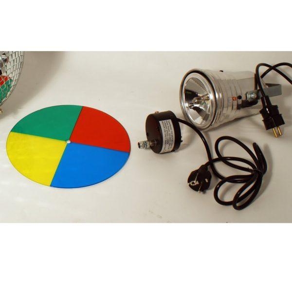 Färghjul med motor (till pinspot)