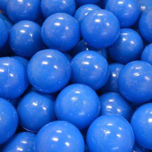 Bollar 60mm, blå, 500 st