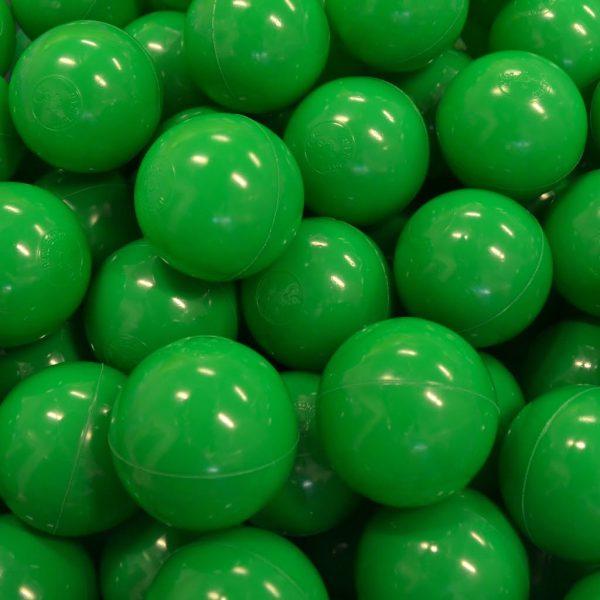 Bollar 75mm, grön, 500 st