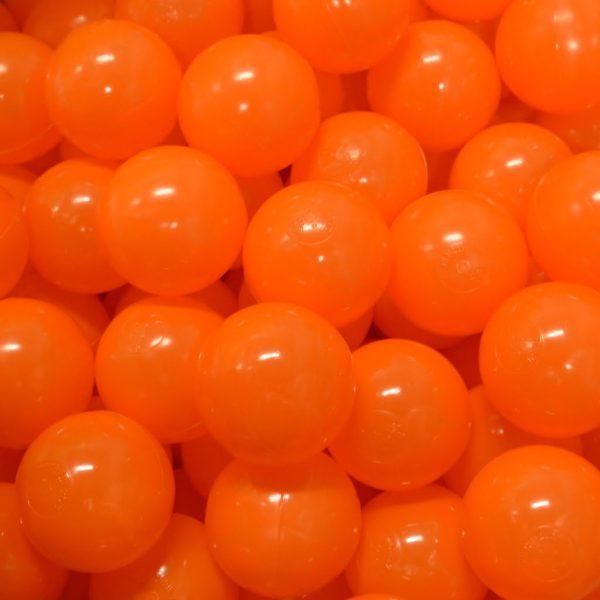Bollar 60mm, orange, 500 st