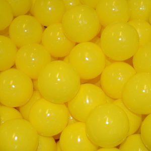Bollar 60mm, gul, 500 st