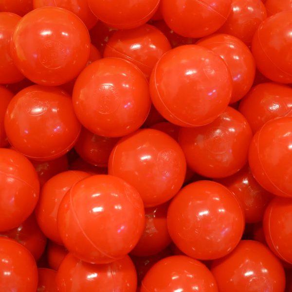 Bollar 75mm, röd, 500st