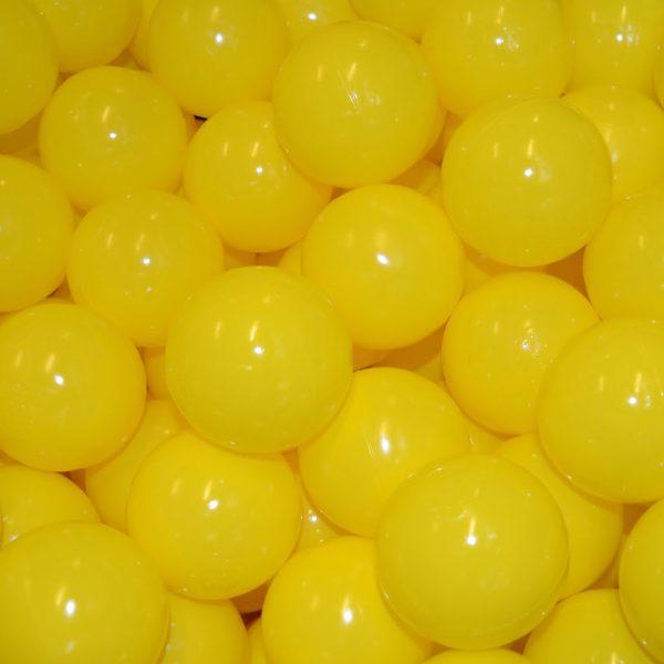 Bollar 75mm, gul, 500 st