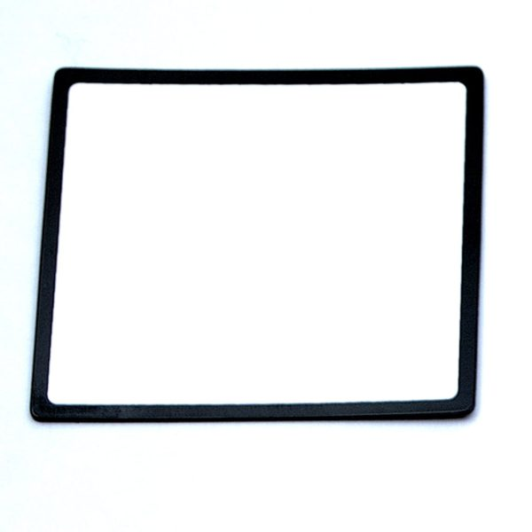 Symbolix magnetkort svart ram, 8x8cm (56st)