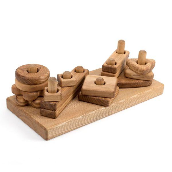 Konstruktionsbygge i trä