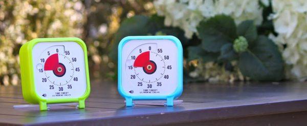 Klocka Time Timer® Small 8x8cm Turkos