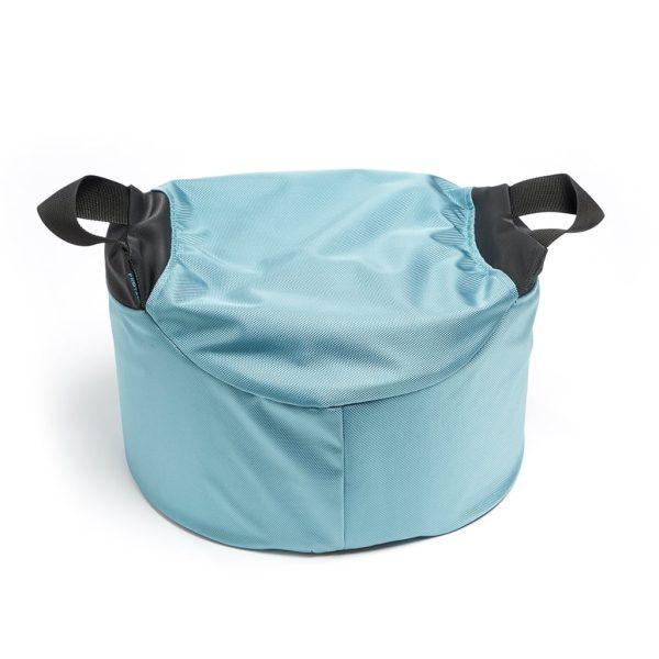 Fot-/sittkudde Protac GroundMe®, hög 20cm, Aqua