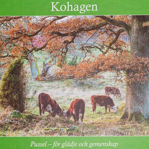 Träpussel Kohagen, 30 bitar