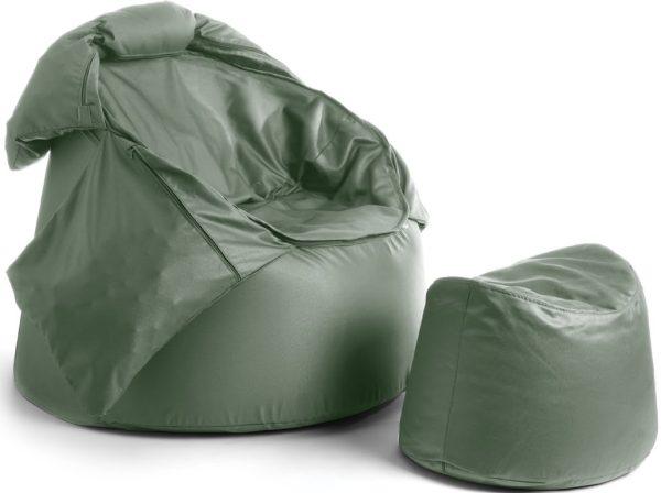 Bollfåtölj Protac Sensit® Hög inkl.fotpall, valfri färg