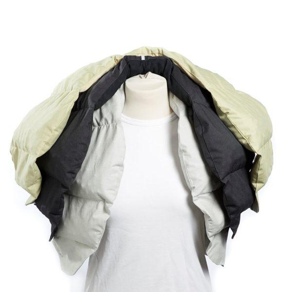 Tyngdkrage Protac SensOn® Junior ca 2 kg, Ljusgrå
