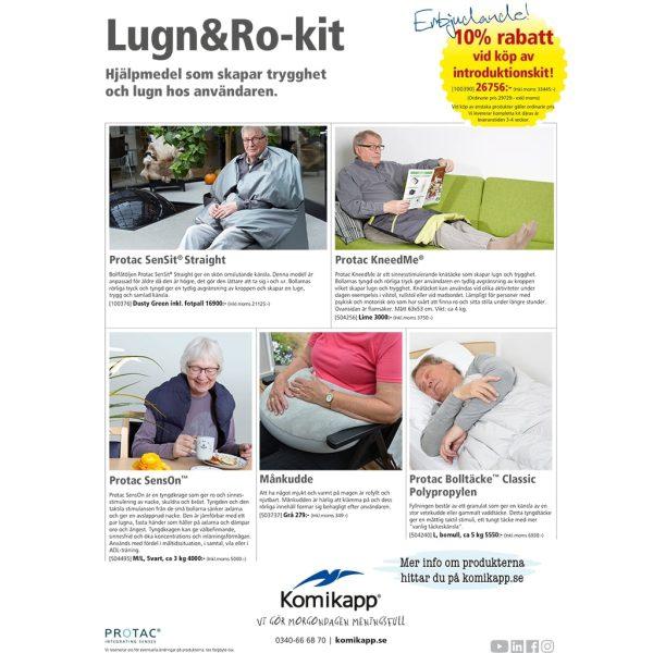Lugn och ro-kit för Äldreomsorg