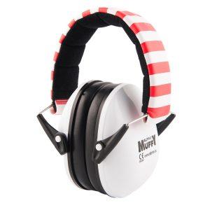 Hörselkåpor Alpine Muffy™, vit