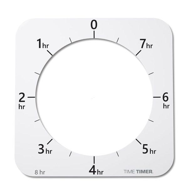 Extra urtavlor till Klocka Time Timer® MAX