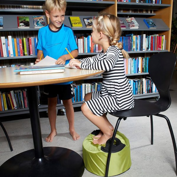 Fot-/sittkudde Protac GroundMe®, hög 20cm, Lime