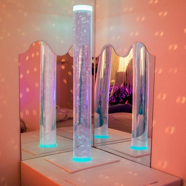 Bubbelrör Gigant interaktivt 200cm, 20cm inkl styrenhet o mottagare