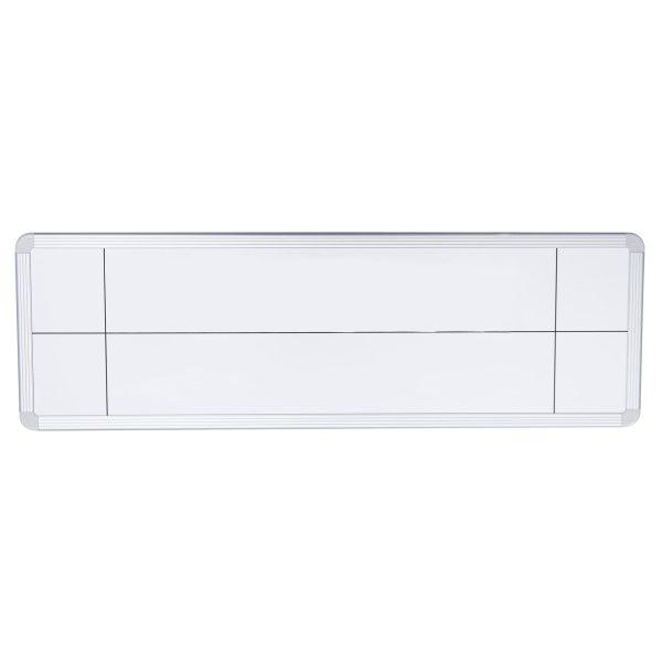 Symbolix planeringskalender endagstavla 18x60cm, vit