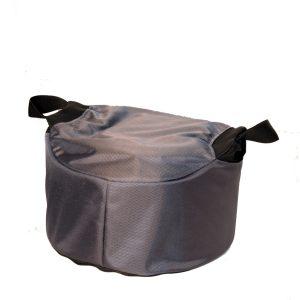 Fot-/sittkudde Protac GroundMe®, hög 20cm, Dark Grey