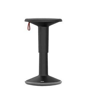 Höj- & Sänkbar rörelsepall, svart