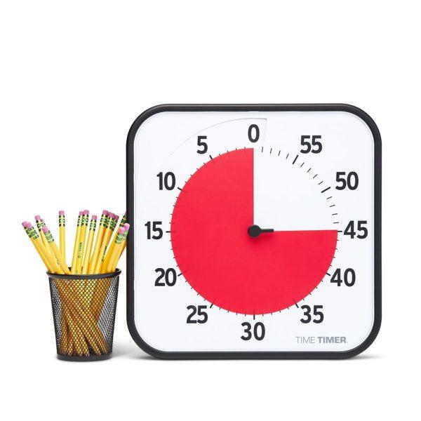 Klocka Time Timer®  Large 30x30 cm Magnetisk