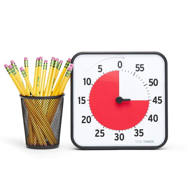 Klocka Time Timer® Medium 19x19 cm Magnetisk