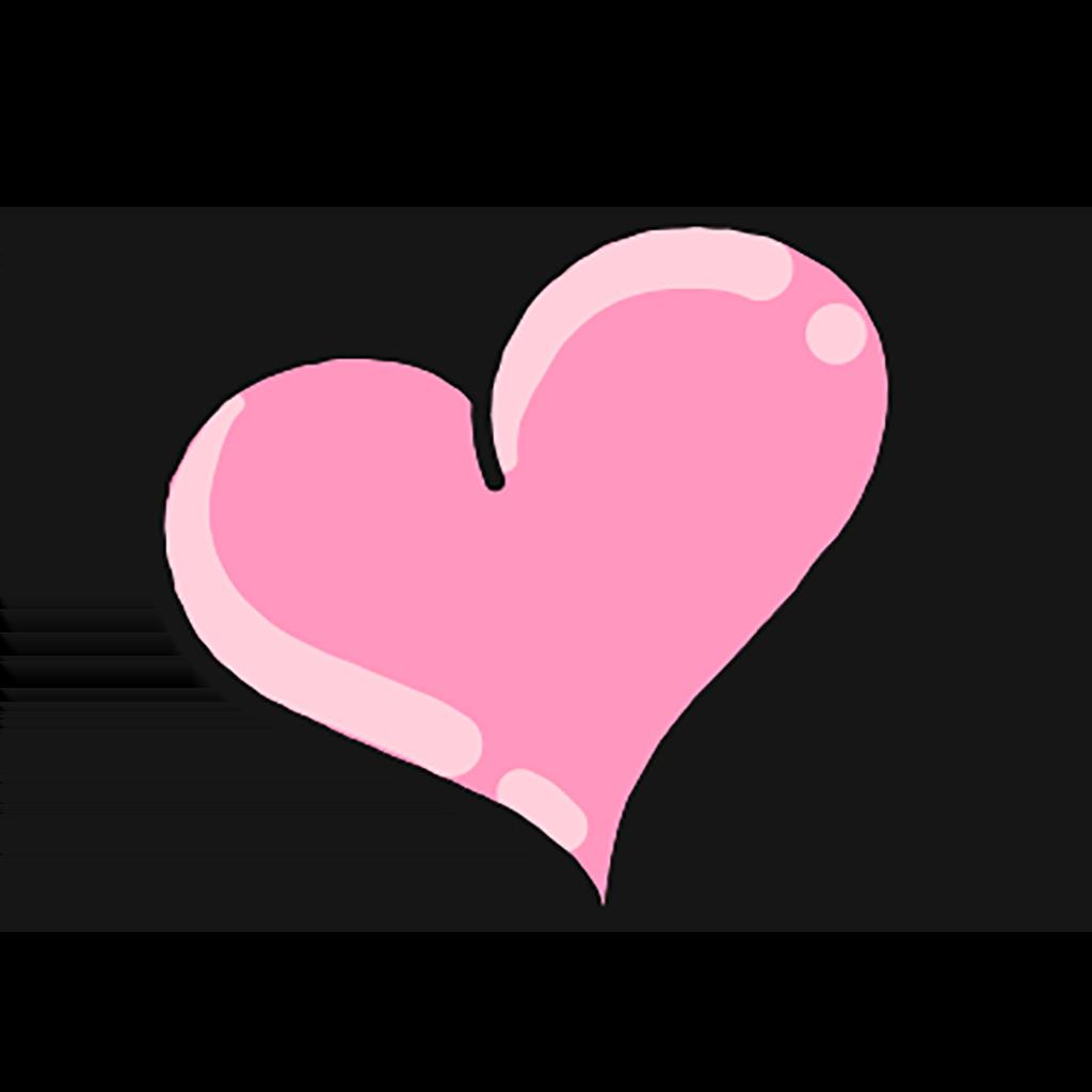 Ett rosa hjärta